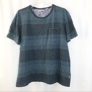 Ted Baker Ted T-Shirt Stripe Basic Short Sleeve